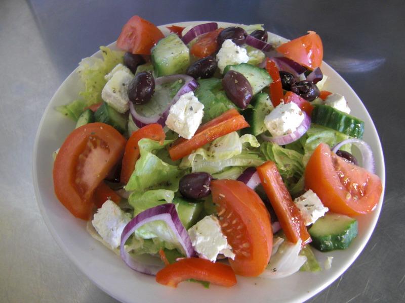Гръцка салата - снимка