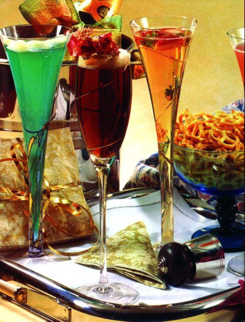 Коктейл с шампанско - снимка
