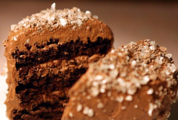 Шоколадовва торта - снимка